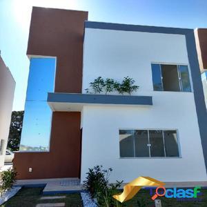 Casas 3 dormitórios não geminadas em São Pedro da Aldeia
