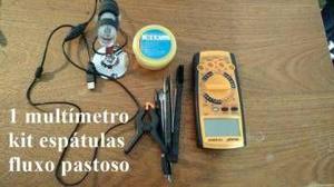 Kit ferramentas manutenção de celulares
