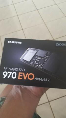 Ssd m2 samsung 970 evo 500gb nvme mb/s