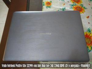Vendo Noteb 14p -Positivo Stilo XR - Intel Dual Core 2GB