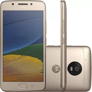 Celular Motorola Moto G5 4g 2 Chips Novo Dourado Promocao