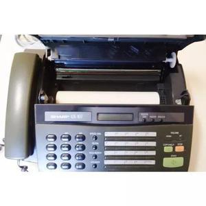 Fax Antigo - Decoração Ou Peças - Sharp Ux-107 (cód.