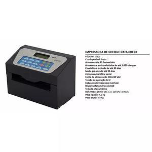 Impressora De Cheques Data Check - Bivolt - Frete Gratis