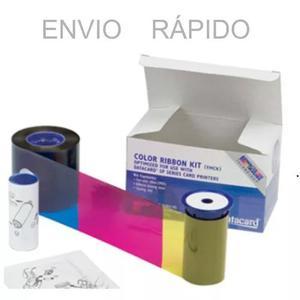 Ribbon Datacard Envio Rápido Colorido Sd260/sd360 Sp35/sp55