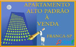 APARTAMENTO ALTO PADRÃO A VENDA-FRANCA-SP - Apartamento