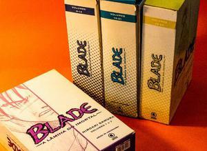 Blade a Lâmina do Imortal, editora Conrad - box