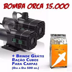 Bomba P/ Lagos Cubos Orca 15000 Frete Grátis - 110v Ou 220v