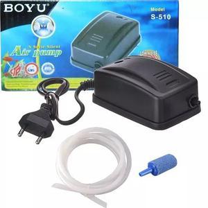 Boyu S-510 Compressor De Ar + Mangueira + Pedra Porosa 110v