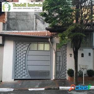 Casa térrea 2 dormitórios, Parque São Vicente