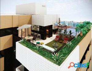 Cobertura Quarto e Sala ÷ em 60 meses direto na Ponta Verde
