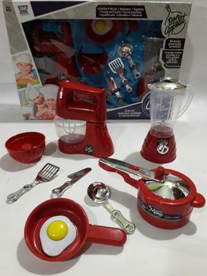 Kit Cozinha Infantil Chef Kids