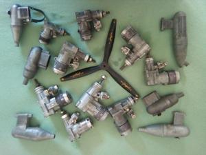 Motores aeromodelos diversos usados e novos