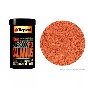 Ração Tropical Fd Calanus Pote 12g Alimento Corais E