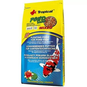 Ração Tropical Pond Sticks Mixed 4kg Carpa Kinguio Koi
