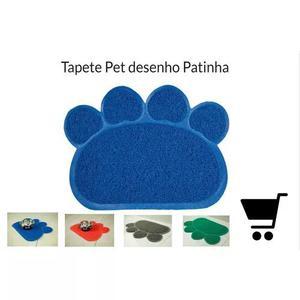 Tapete Pata Pvc Para Cães E Gatos Pet