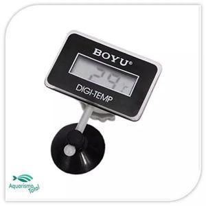 Termômetro Boyu Bt-10 Digital Submersível Tela Lcd P