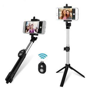 Bastão de Selfie com Tripé e Controle/ Vendedora Gisele