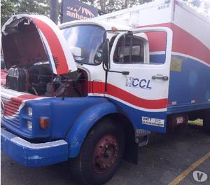 Caminhão Mb 1114 1988 Baú Refrigerado unico dono