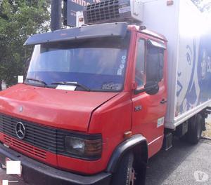 Caminhão Mb 709 94 Baú Refrigerado 34 único dono