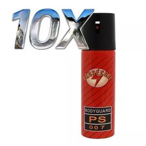 Kit 10 Unidades Spray De Pimenta Prosegure Com 60 Ml Cada
