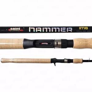 Vara Carretilha Saint Plus Hammer Im8 (2,40m) - (20 - 40lb)