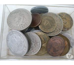 100 Kg de moedas antigas de todos os tipos-Réis, etc.. R$15