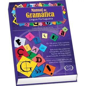 4 Livro Ensino Manual De Gramatica 384pgs Vale Das Letras Un