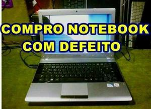 Adquirimos Notebook com defeitos ou usado!