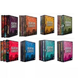 Agatha Christie Coleção Completa Box 1, 2, 3, 4, 5, 6, 7,