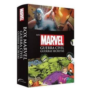 Box Marvel - Guerra Civil Guerras Secretas - Novo Seculo