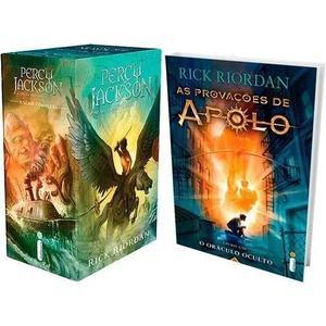 Coleção Percy Jackson + O Oráculo Oculto (6 Livros)