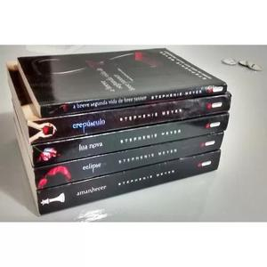 Coleção Saga Crepúsculo 5 Livros + Brindes