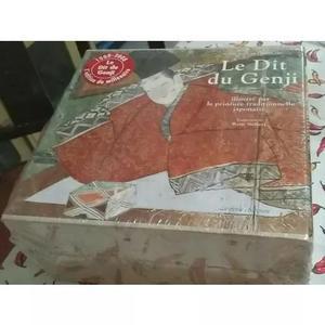 Livro Importado Le Dit Du Genji - Box Com 3 Volumes Raro