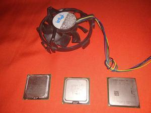 Vendo 3 processadores e um cooler