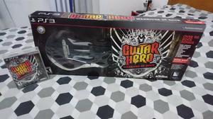 Jogo Guitar Hero Warriors of Rock + Guitarra - PS3