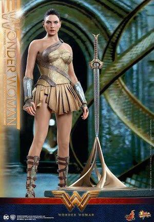 Mulher Maravilha training Armor Hot Toys! Lacrada!