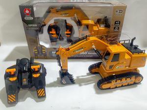 Retro Escavadeira recarregavel Com Controle Remoto produto