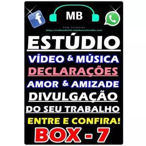 Web Rádio E Criação De Anuncios,jingles E Spots