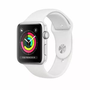 Apple Watch Séries 3 38mm Gps Sport Prova D'água Branco
