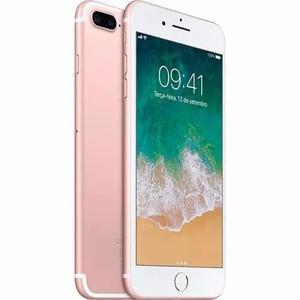 Iphone 7 Plus 32gb Ouro Rosa 5,5 Lacrado Nota Fiscal