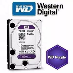 Hd 2tb Wd Purple 2tera Intelbras Pc Cftv Dvr Wd20purx Novo