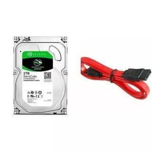 Hd Seagate Desktop 2tb 2000gb 64mb Sata 3 6gb/s + Cabo Sata