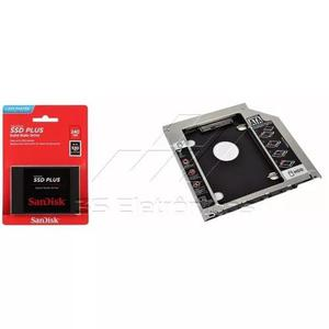 Kit Ssd Sandisk 240gb Plus G26 + Adaptador Caddy Macbook Pro