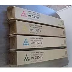 Toner Ricoh Mp C3503 841813 841815 Kit 02 Cores