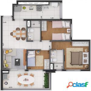 Apartamento 61 m² Vila Matilde