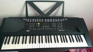 Barraca de camping e teclado