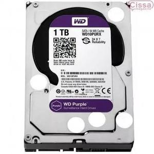 Hard Interno Wd Purple 1tb Sata 6gb/s 7200 Rpm - Wd10purx
