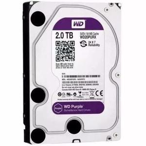 Hd 2tb Wd Purple Interno 2tb Sata 6gb/s P/ Cftv E Pc