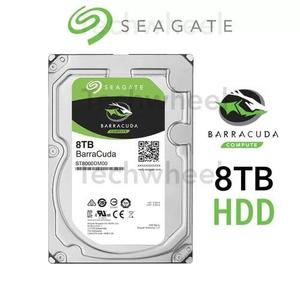 Hd 8tb Seagate Barracuda Sata 3 Desktop 5400rpm 8000gb Novo
