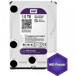 Hd Interno Wd Purple 1tb Sata 6gb/s 5400 Rpm - Wd10purz
